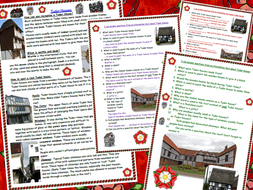 Tudor House Reading Comprehension Information Text