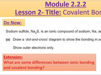 A Level Chemistry OCR A Module 2.2.2 by rcmcauley ...