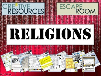 Religion RE Escape Room
