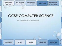 OCR GCSE Computer Science Keywords
