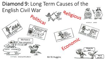 Diamond 9 Activity - Long Term Causes of the English Civil War