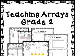 2nd Grade Math - Teaching Array - CCSS Aligned