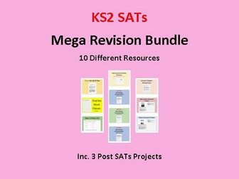 Mega SATs Revision Bundle (+Post SATs Projects)