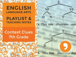 Context Clues - 7th Grade - Playlist and Teaching Notes