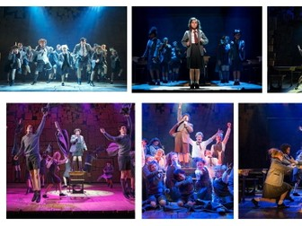 Dance KS3 Musical Theatre: Matilda Resources, Differentiated Tasks & Blooms Questions