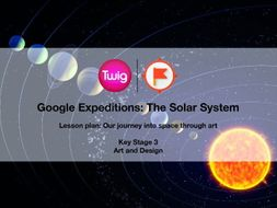 Google Expeditions lesson plan: The Solar System