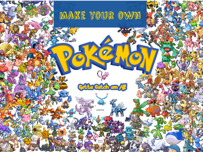 pixel art animation make your own pokemon by omilford teaching Make Your Own Wallpaper pixel art animation make your own pokemon