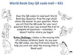 KS1 World Book Day QR Code Quiz