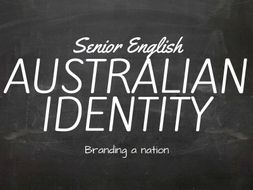 australian identity the bushman stereotype ppt activities posters