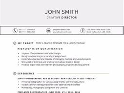 targeted resume template for word by gemresume teaching resources