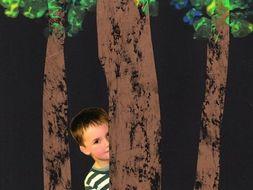 KS1 Art Lesson Plan - Woodland and Wax Rubbing