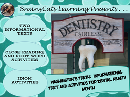 Washington's Teeth:  Readings and Activities for Dental History Month