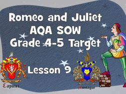 Tybalt's fury - Lesson 9 (Romeo and Juliet)