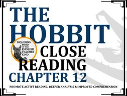 The Hobbit Close Reading Worksheet (Chapter 12)