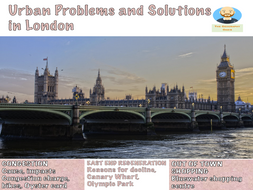 Urban Problems and Solutions: London