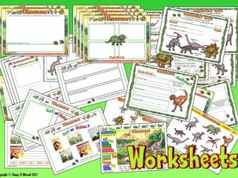 Dinosaurs KS1 – Worksheets