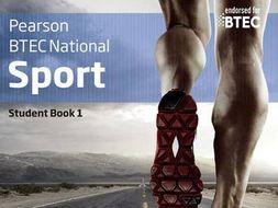 BTEC Sport. REVISION BOOKLET. Level 3. Unit 1.