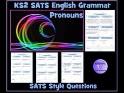 Pronouns: Personal, Possessive, Relative SATS