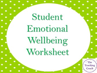 Emotional Check In Worksheet - Anxiety Worries Fears Reflection - Pastoral Recovery Curriculum
