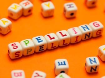 Spelling games