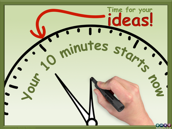 Ten (10) minute Ideas Countdown Timer