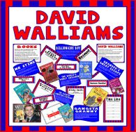 DAVID WALLIAMS - RESOURCES ENGLISH READING KS1-2 AUTHOR COMEDY