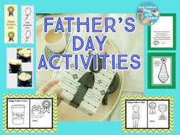Father's Day Activitiy Packet