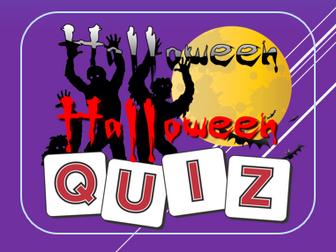 Halloween 2017: Halloween Quiz