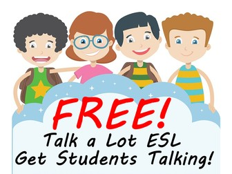 Lots of FREE Great Teaching Ideas To Get ESL Students Speaking More Confidently In Class!