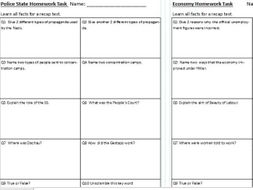 History gcse homework help