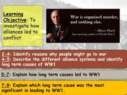 How Did Alliances Lead To WW1?