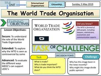 WTO. - World Trade Organisation