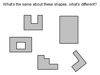 Area of rectilinear shapes