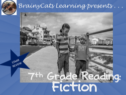 7th Grade Reading:   FICTION