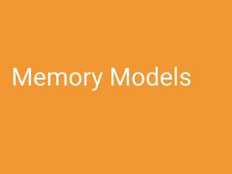A-Level PE (OCR) Memory Models (Powerpoint & Full Resources)