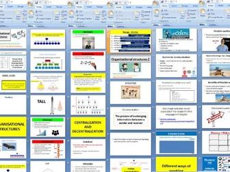 Edexcel GCSE Business (9-1) Theme 2 - 2.5.1 Organisational structures