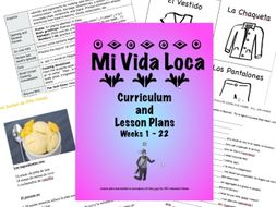 Mi Vida Loca Lesson Plans, Episodes 1-22