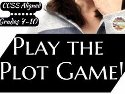 Plot/Literary Elements GAME!