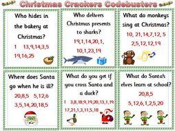 Christmas Crackers Codebusters KS1
