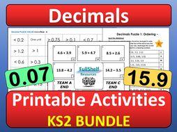 Decimal Numbers Year 5 / 6