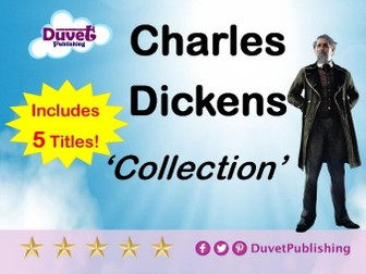 A Collection Of 5 Charles Dickens Novels