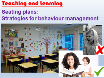 Seating Plans - Behaviour Management