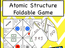 Atomic Structure Game