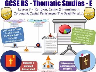 Capital & Corporal Punishment (The Death Penalty) [GCSE RS - Religion, Crime & Punishment L8/10]