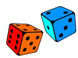 2 Dice 2 Colours Maths Game