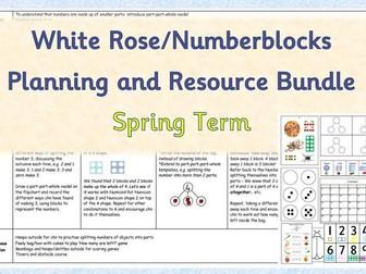 Maths Planning and Resource Bundle - White Rose/Numberblocks Spring Term