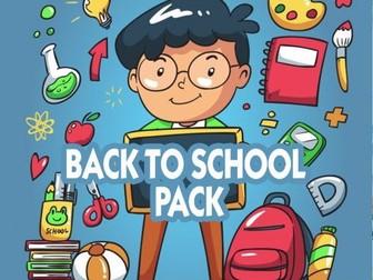 Back to school  mega pack