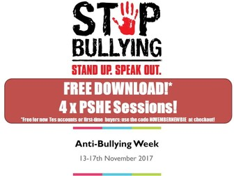 Anti-Bullying Pack!