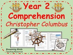 KS1 SATs comprehension - Christopher Columbus - history