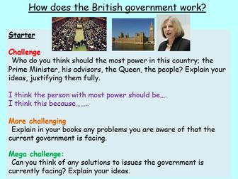 British Values - British Politics